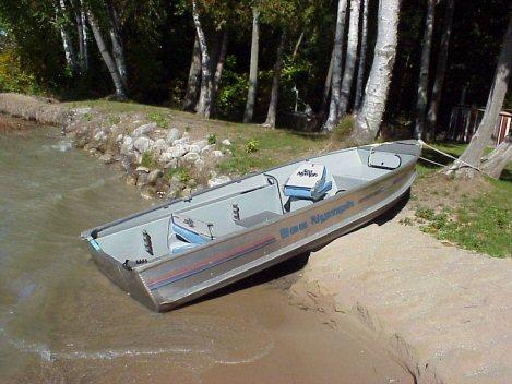 12 Ft. Aluminum Jon Boat