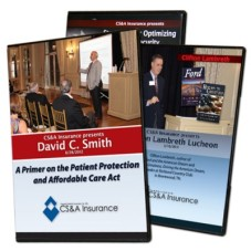 CS&A Insurance Speaker Series DVDs