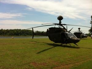 OH-58D or Kiowa Warrior