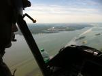 OH-58D or Kiowa Warrior River Shot