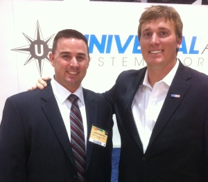Dakota Meyer with Jason Shaffer from CS&A Aviation Insurance